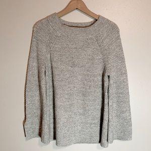 LOFT | Spacedye Textured Slit Cuff Sweater